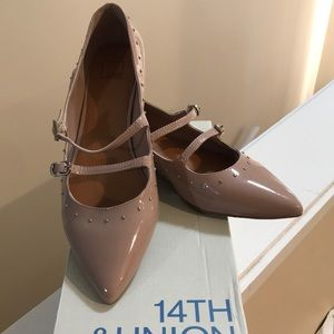 NIB never worn 14th & union blush flats